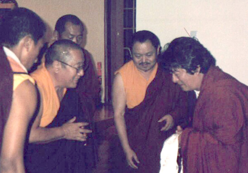 Dungse Thinley Norbu Rinpoche and HH Penor Rinpoche