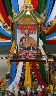 HH Penor Rinpoche in Lhasa